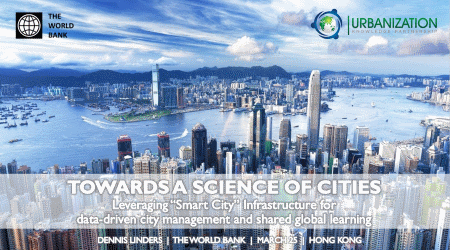 Image of Cover Slide for Science of Cities presentation